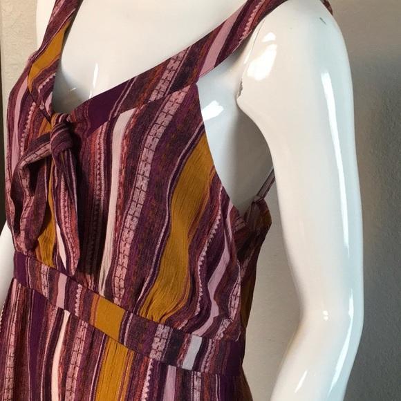 Dresses & Skirts - NWT High/Low Ruffle Hem Dress